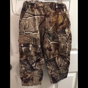 Realtree pants youth size 4